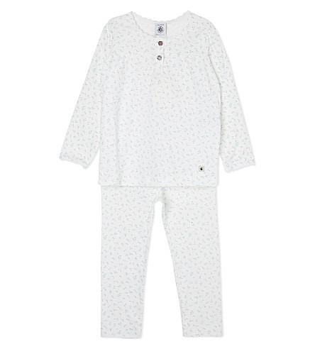 PETIT BATEAU Rose cotton pyjamas 2-12 years (Multicolor