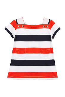PETIT BATEAU Striped jersey dress 3-36 months
