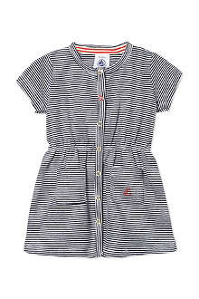 PETIT BATEAU Striped short sleeved dress 3-36 months