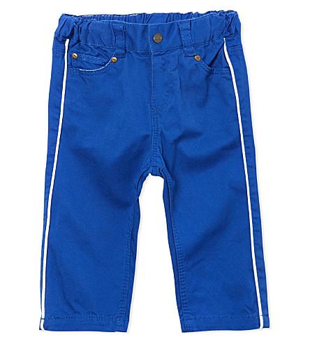 PETIT BATEAU Slim fit pants 3-36 months (Dark+blue