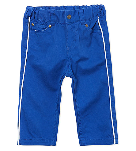 PETIT BATEAU Slim fit trousers 3-36 months (Dark blue