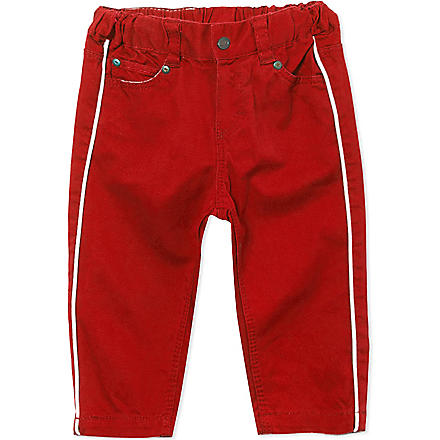 PETIT BATEAU Slim fit trousers 3-36 months (Red