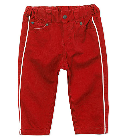 PETIT BATEAU Slim fit trousers 3-36 months (Red