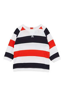 PETIT BATEAU Striped long-sleeved top 3-36 months