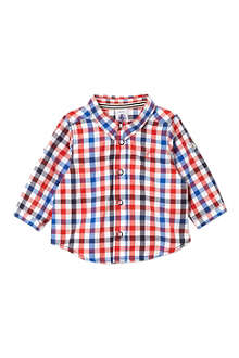 PETIT BATEAU Baby boy long-sleeved gingham