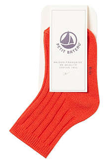PETIT BATEAU Ribbed cotton socks 3-24 months