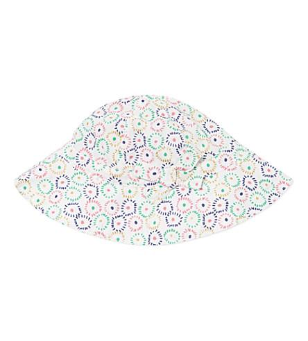 PETIT BATEAU Printed sun hat 3-24 months (Beige/multicolor