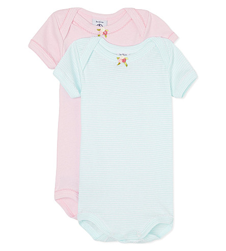 PETIT BATEAU Pack of two babygrow 1-36 months (Multicolor