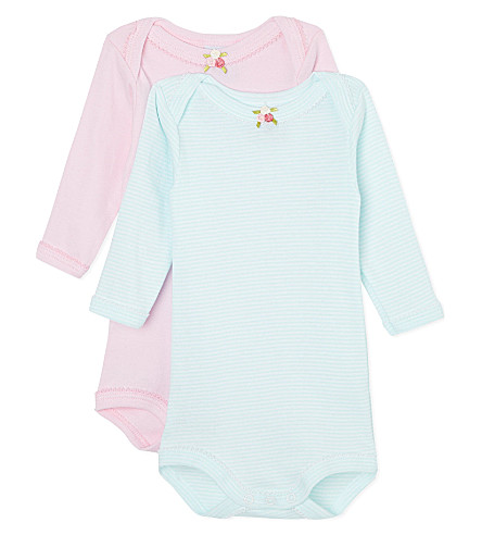 PETIT BATEAU Pack of three babygrow 3-36 months (Multicolor