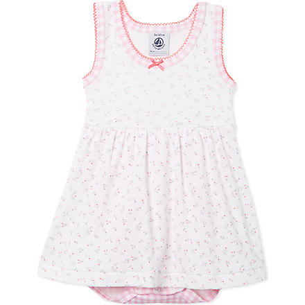 PETIT BATEAU Sleeveless bodysuit (Multicolor