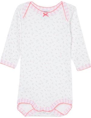 PETIT BATEAU Floral print bodysuit 3-36 months