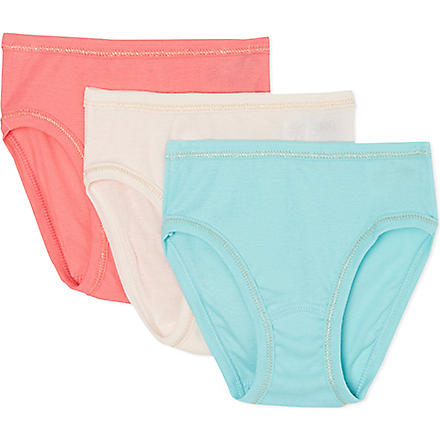 PETIT BATEAU Pack of 3 girls pants 2-12 years (Multicolor