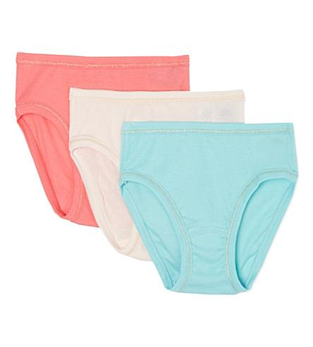 PETIT BATEAU 包3女孩裤2-12 年 (多色