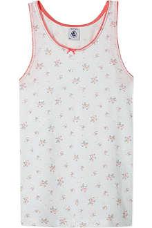 PETIT BATEAU Floral vest top 2-10 years