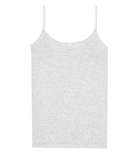 PETIT BATEAU Metallic vest 12-18 years (Poussiere/argent