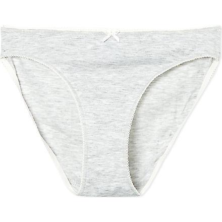 PETIT BATEAU Metallic cotton pants 12-18 years (Poussiere/argent