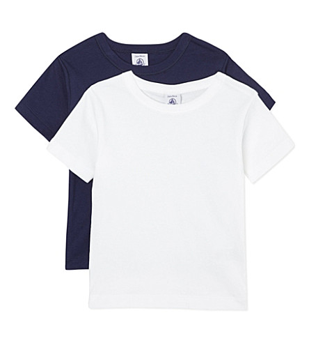 PETIT BATEAU Pack of two T-shirts 2-12 years (Multicolor