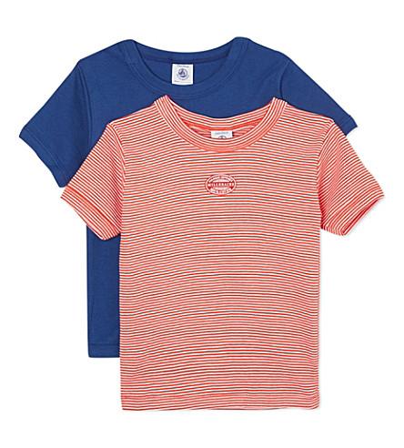 PETIT BATEAU 包两 t-shirts 2-12 年 (多色