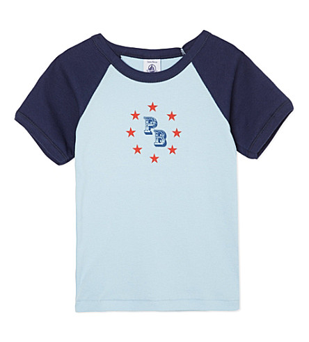 PETIT BATEAU Stars T-shirt 2-12 years (Light+grey