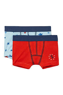 PETIT BATEAU Set of two boxers 2-12 years
