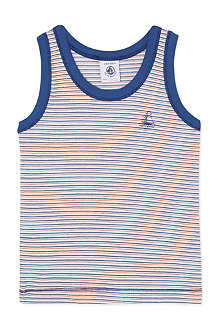 PETIT BATEAU Striped vest 2-12 years