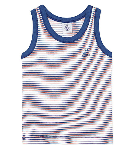 PETIT BATEAU Striped vest 2-12 years (Multicolor