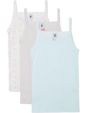 PETIT BATEAU Pack of 3 chemises 2-12 years