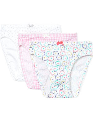 PETIT BATEAU Pack of three pants 2-12 years