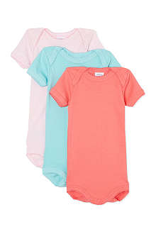 PETIT BATEAU Pack of three bodysuits 1 month-4 years