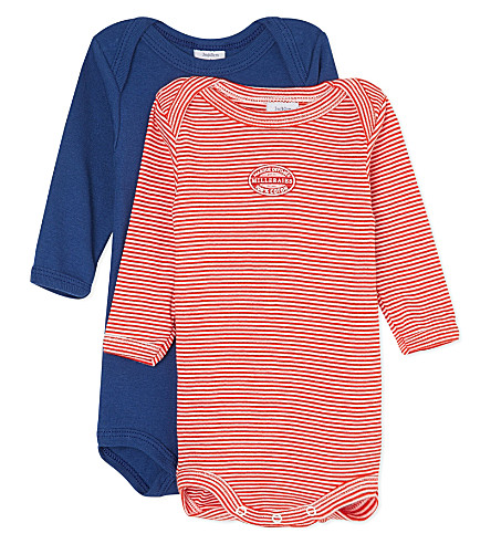 PETIT BATEAU Pack of 2 striped bodysuits 3-36 months (Multicolor