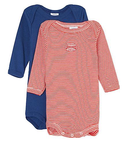 PETIT BATEAU Pack of 2 striped bodysuits 3-36 months (Multicolor