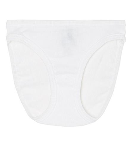 PETIT BATEAU 罗纹棉裤 (关 + 白