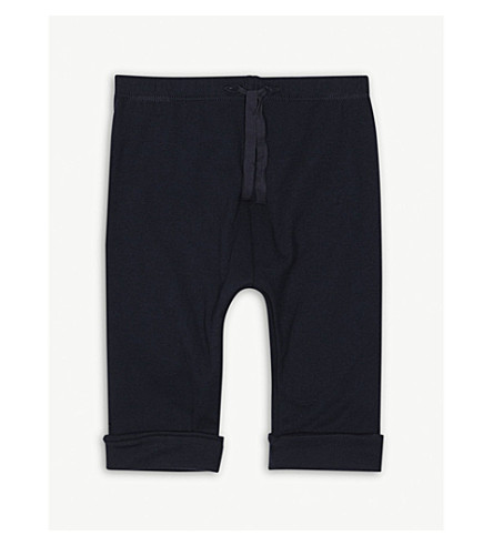 PETIT BATEAU Jersey cotton jogging bottoms 1-12 months (Smoking blue