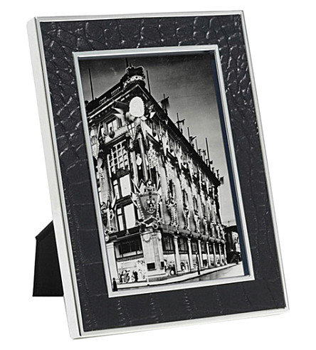 RALPH LAUREN HOME 查普曼浮雕真皮相框5x7