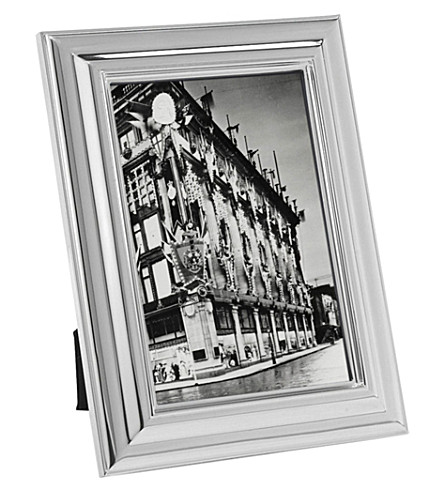 RALPH LAUREN HOME Ogee silver-plated photo frame 5x7