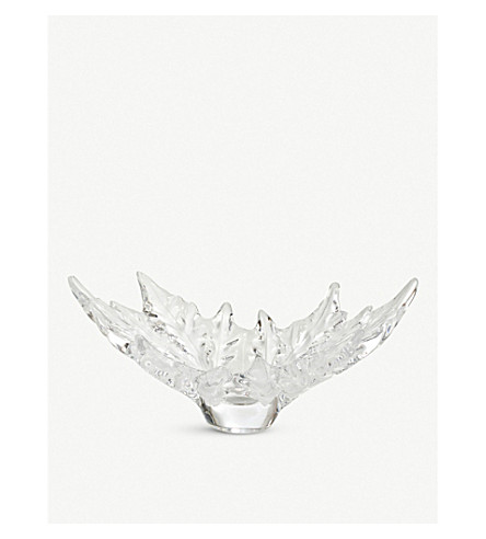 LALIQUE Champs-Elysees crystal bowl 46cm (Clear