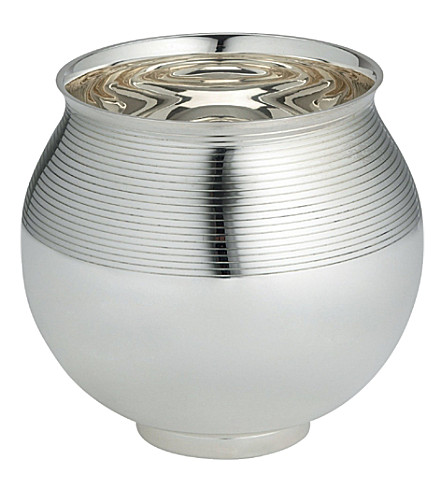 ERCUIS Silver-plated ice bucket (Silver