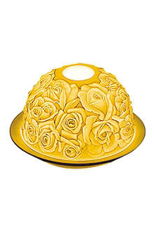 BERNARDAUD Roses votive candle