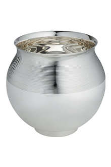 ERCUIS Silver-plated champagne bucket