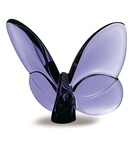 BACCARAT Papillon Lucky Butterfly (Purple