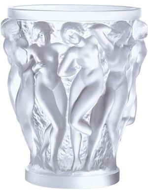 LALIQUE Bacchantes vase 24cm