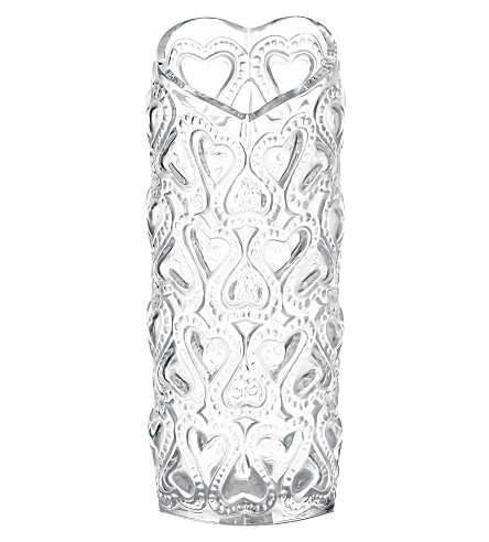 LALIQUE Amour vase 20cm (Clear