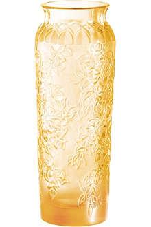 LALIQUE Bougainvilliers vase