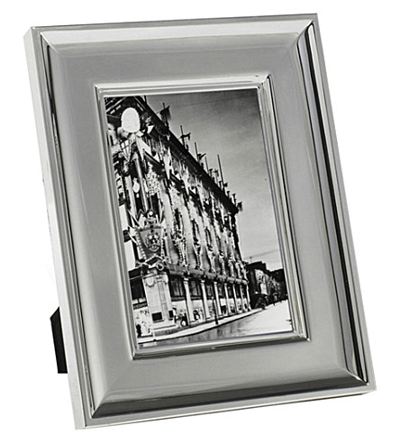 RALPH LAUREN HOME Cove silver-plated photo frame 5x7