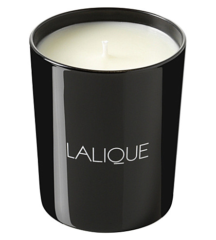 LALIQUE Vetiver scented candle 190g (Black