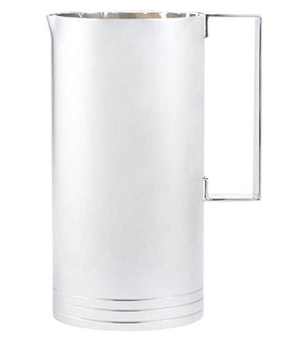 RALPH LAUREN HOME Montgomery silver-plated brass pitcher