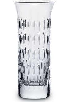 BACCARAT Flora Grain de Viz vase 18cm