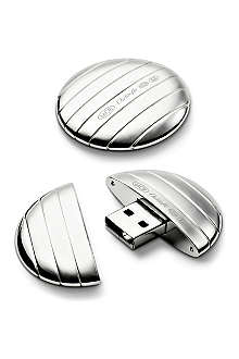 CHRISTOFLE Galet USB key ring