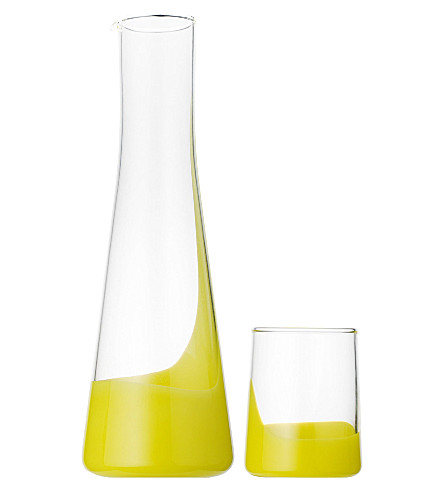 BIB & SOLA Carafe and glass set (Yellow