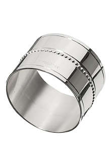 CHRISTOFLE Silver-plated napkin ring